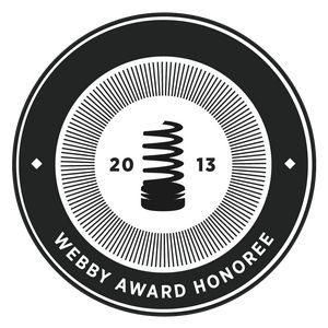 2013 Webby Award Honoree