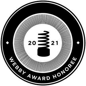 2021 Webby Award Honoree.
