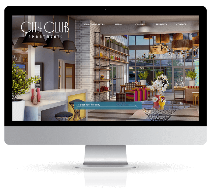 2018 Webby Award Honoree Best Visual Design - Function City Club Apartments
